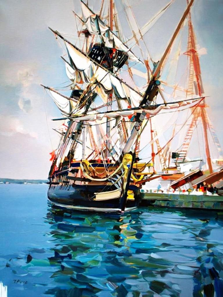 парусник корабль мачта паруса море путешествие живопись старые мастера с чего начать рисовать где рисовать в спб лучшие курсы живописи алексей жуков артмуза
