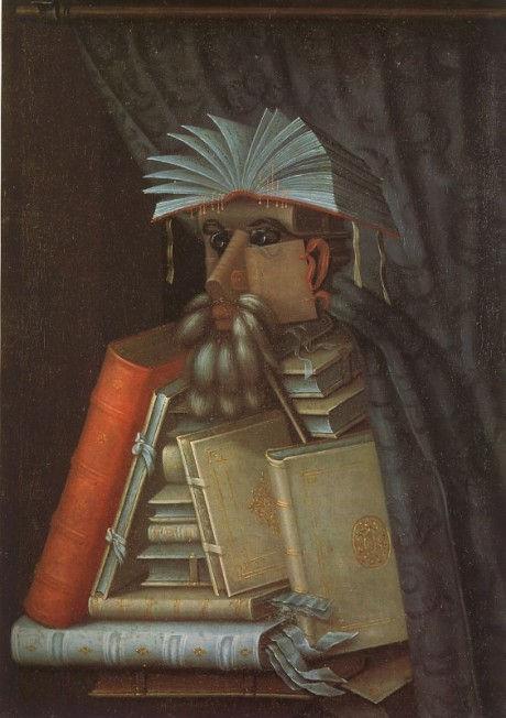 библиотекарь джузеппе арчимбольдо портрет необычное искусство натюрморт сюрреализм художник шедевры живописи арт школа где рисовать в петербурге курсы живописи