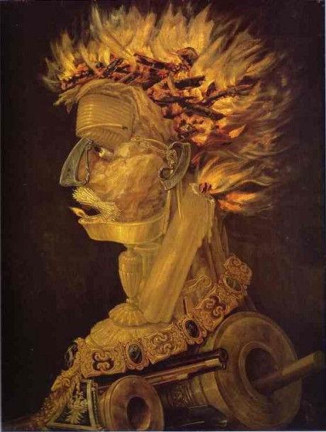 стихия огонь арчимбольди сюр стили живописи жанры материалы картина маслом курсы живописи арт студия спб петербург васька