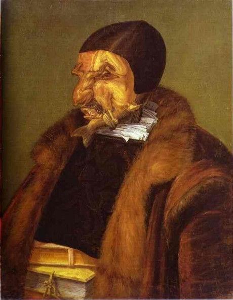 юрист джузеппе арчимбольдо фентези портрет натюрморт абстракция сюрреализм итальянский художник история живописи жанры картина маслом