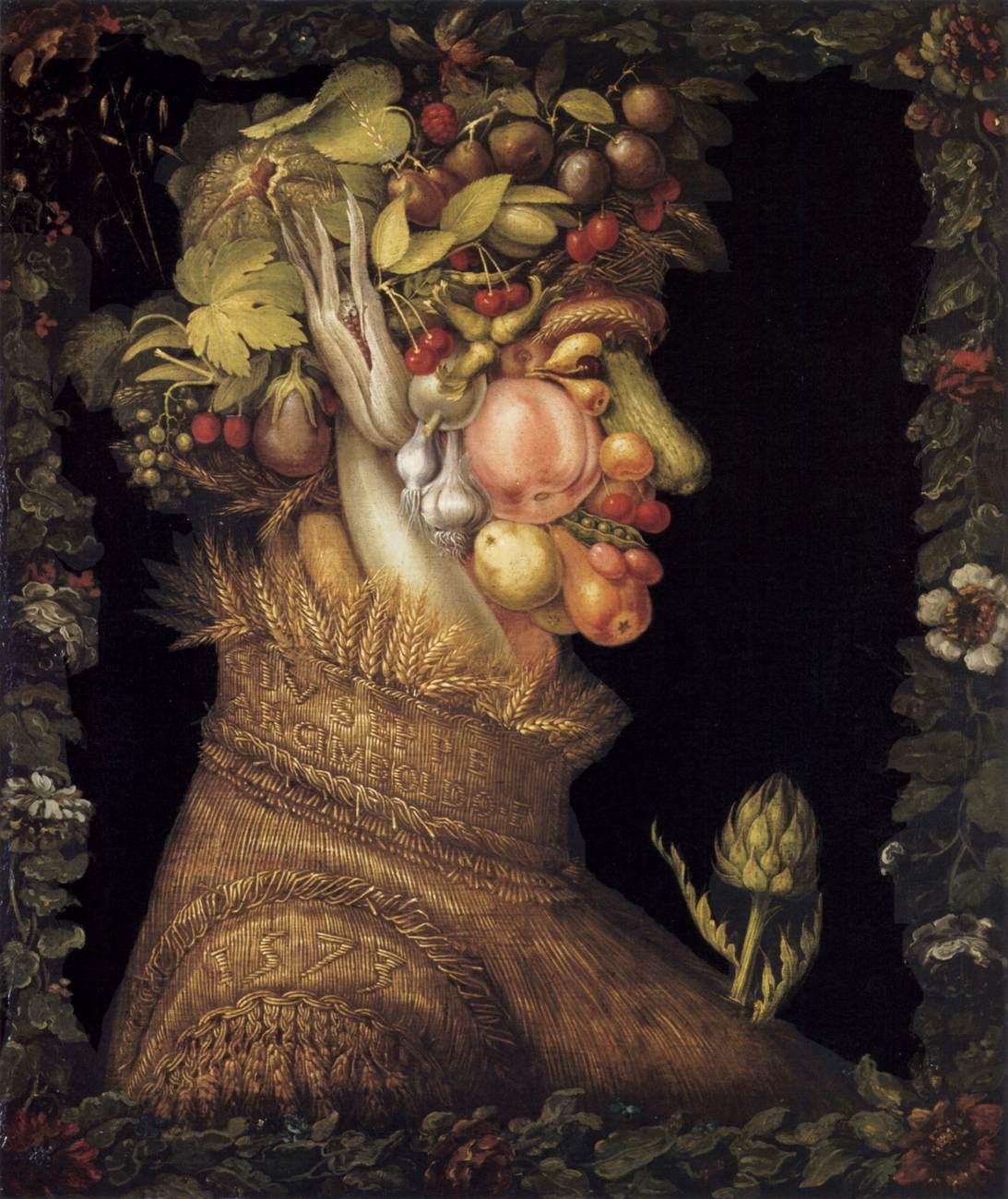лето времена года джузеппе арчимбольдо фрукты овощи как рисовать портрет натюрморт арт-студия на ваське в.о. петербург детские группы пленеры вебинары
