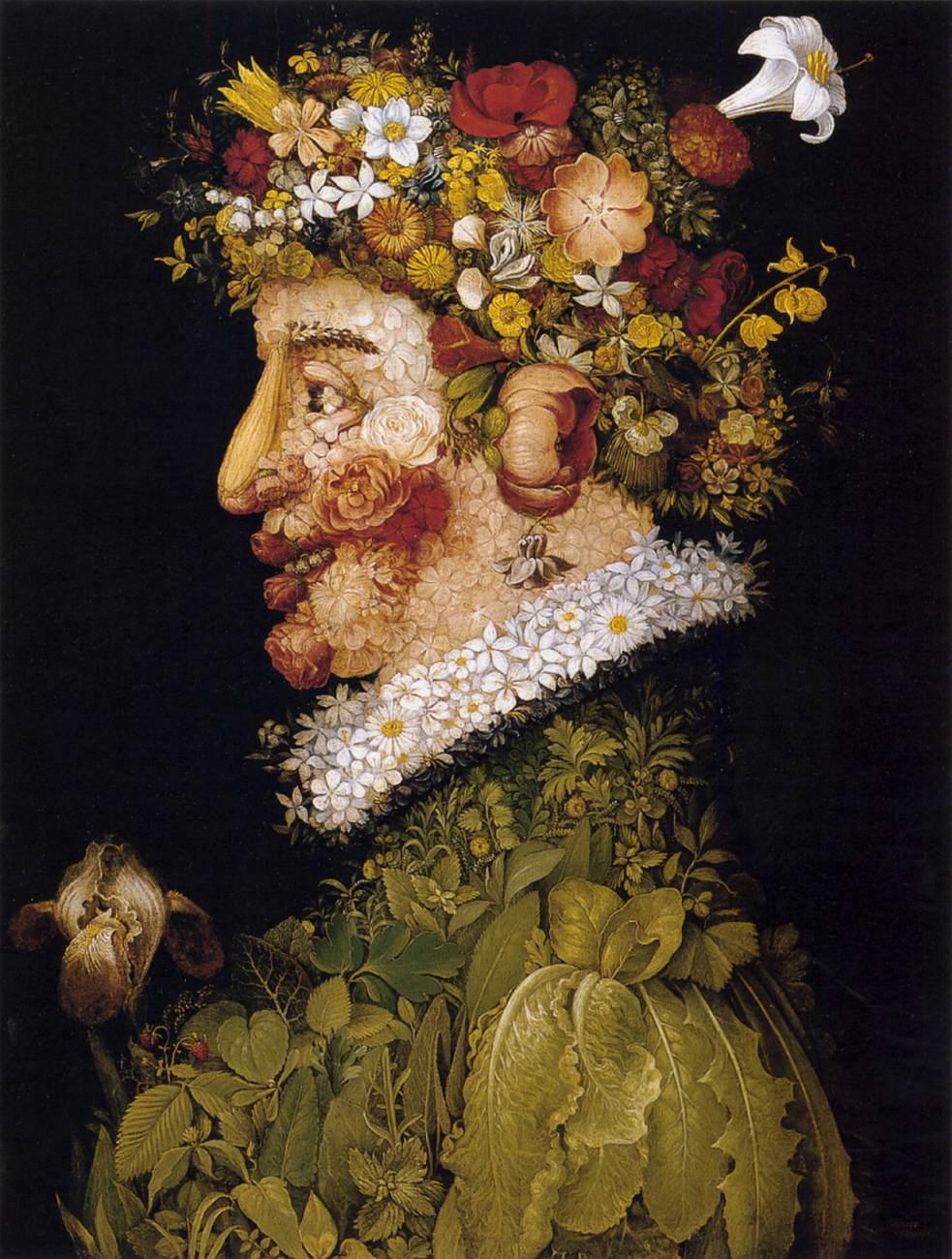 весна времена года цветы портрет арчимбольдо алексей жуков арт пространство лофт артмуза курсы живописи рисование для взрослых питер петербург