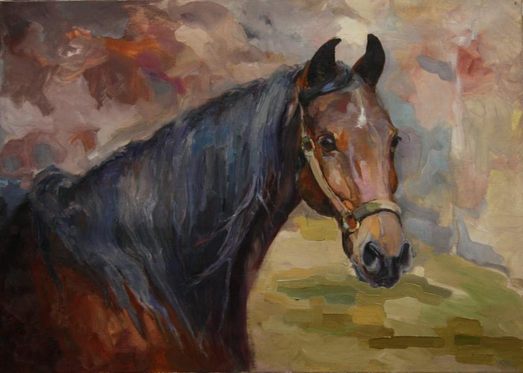 лошадь грива голова морда соцреализм этюд наброски зарисовки классическая живопись современное искусство поп арт импрессионизм научиться рисовать пойти рисовать живопись с нуля курсы
