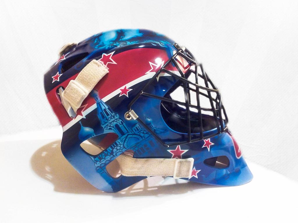 шлем вратарский хоккей роспись сколько стоит расписать шлем спб питер живопись рисование с нуля обучение курсы живописи артмуза