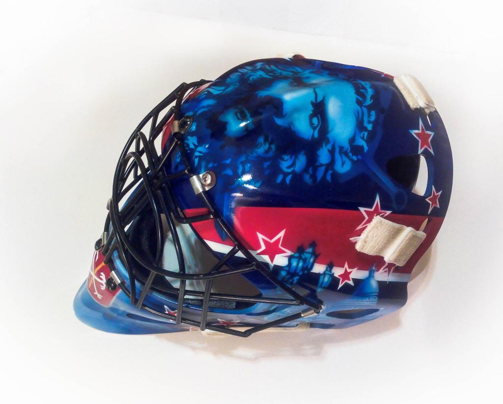 шлем хоккей ска звезды символы города заказать роспись аэрография кистевая роспись интерьер стены шлем байкерский мотоцикл автомобиль сноуборд спб алексей жуков