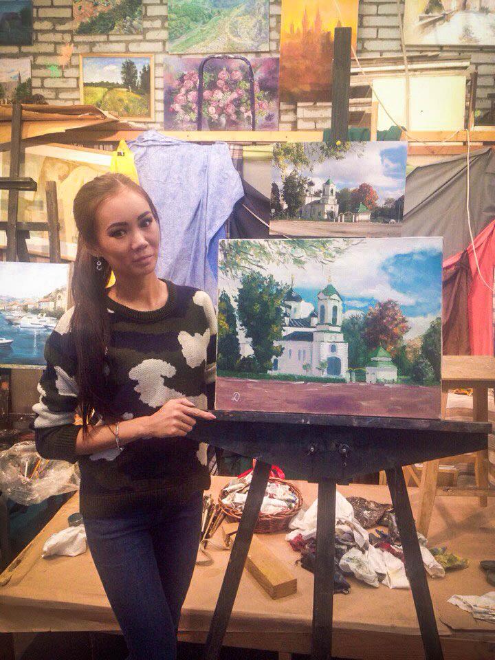 курсы живописи работы учеников живопись маслом обучение индивидуальные занятия видеоуроки пейзаж как рисовать спб лучшие курсы