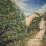 #черногория #дом #средиземноморье #руины #античность #тишина #магнолии #небо #юг #лето #живописьжуковалексей