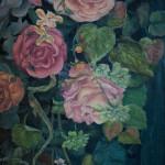 #цветы #ставни #натюрмортсцветами #композиция #картинамаслом #живопись #художник