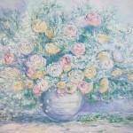 #натюрмортсцветами #цветы #импрессионизм #ваза #современнаяживопись #авторскаягалерея #гдекупитькартину #интерьернаяживопись