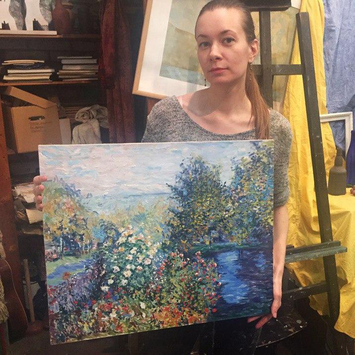 живопись онлайн курсы купить картину в подарок вдохновение обучение креатив хобби школа живописи и рисования для взрослых