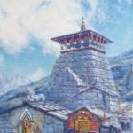 #индия #храм #картинамаслом #буддизм #индуизм #кришнаизм #религиознаяархитектура #пейзаж #авторскаяживопись #купить