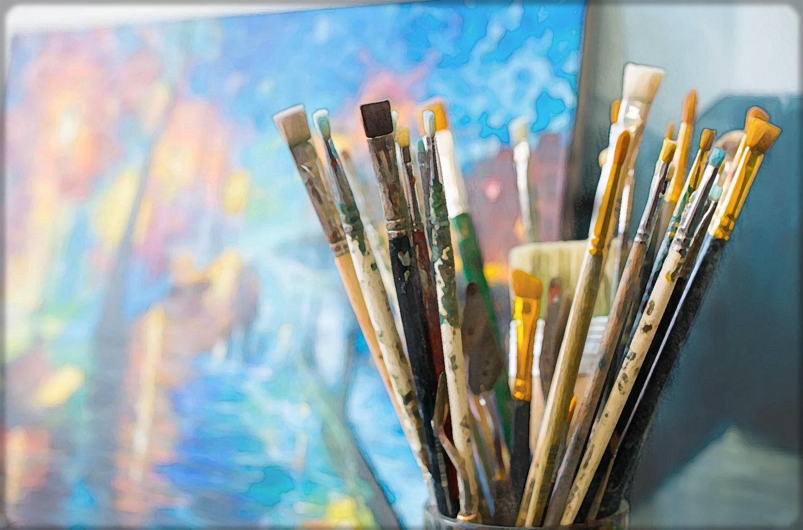 Кисти для масляной живописи. Выбор мастеров