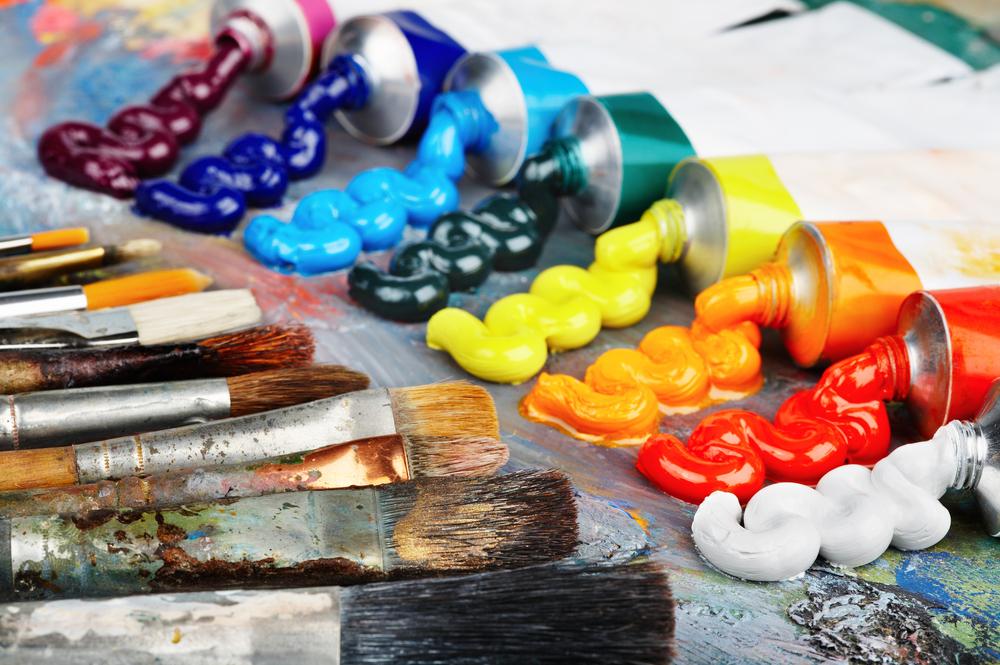 арт-студия как правильно выбрать краски для рисования какими красками рисуют масляные краки пигмент