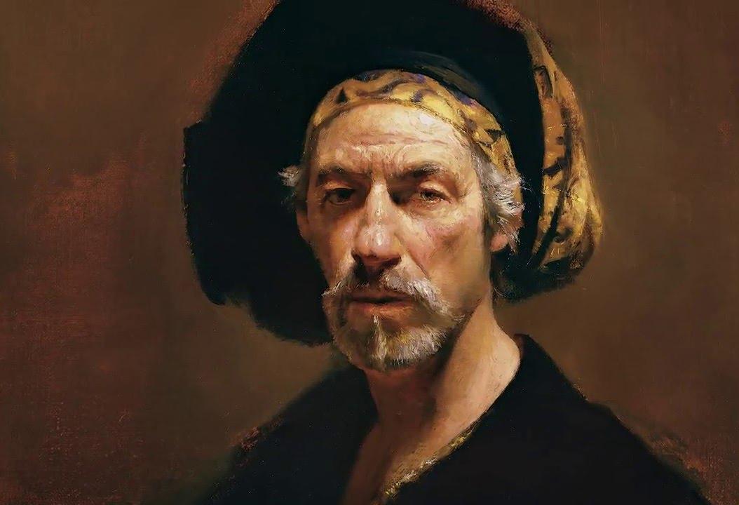 Leffel David — современный Рембрандт!