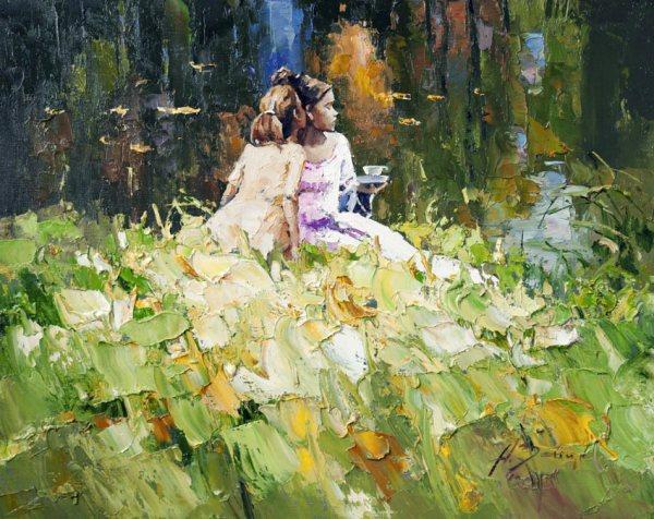 Современная русская живопись: Алексей Зайцев