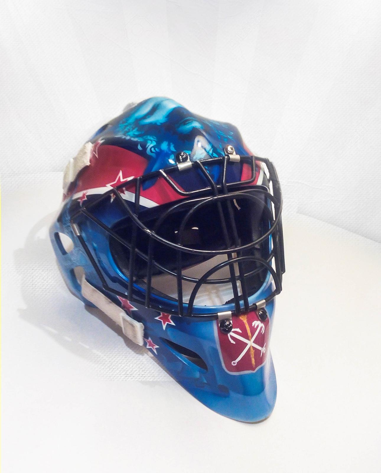 Мой первый опыт росписи шлема