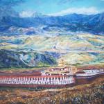 #монастырь #Тибет #Непал #буддизм #эзотерическаяживопись #картинамаслом #восточнаяживопись #рисунки #искусство