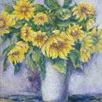 #подсолнухи #цветы #купитьживопись #авторскиекартины #натюрмортсцветами