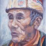 #Тибет #портрет #восток #тибетец #буддист #буддизм #купитькартинумаслом #портретназаказ #современнаяживопись