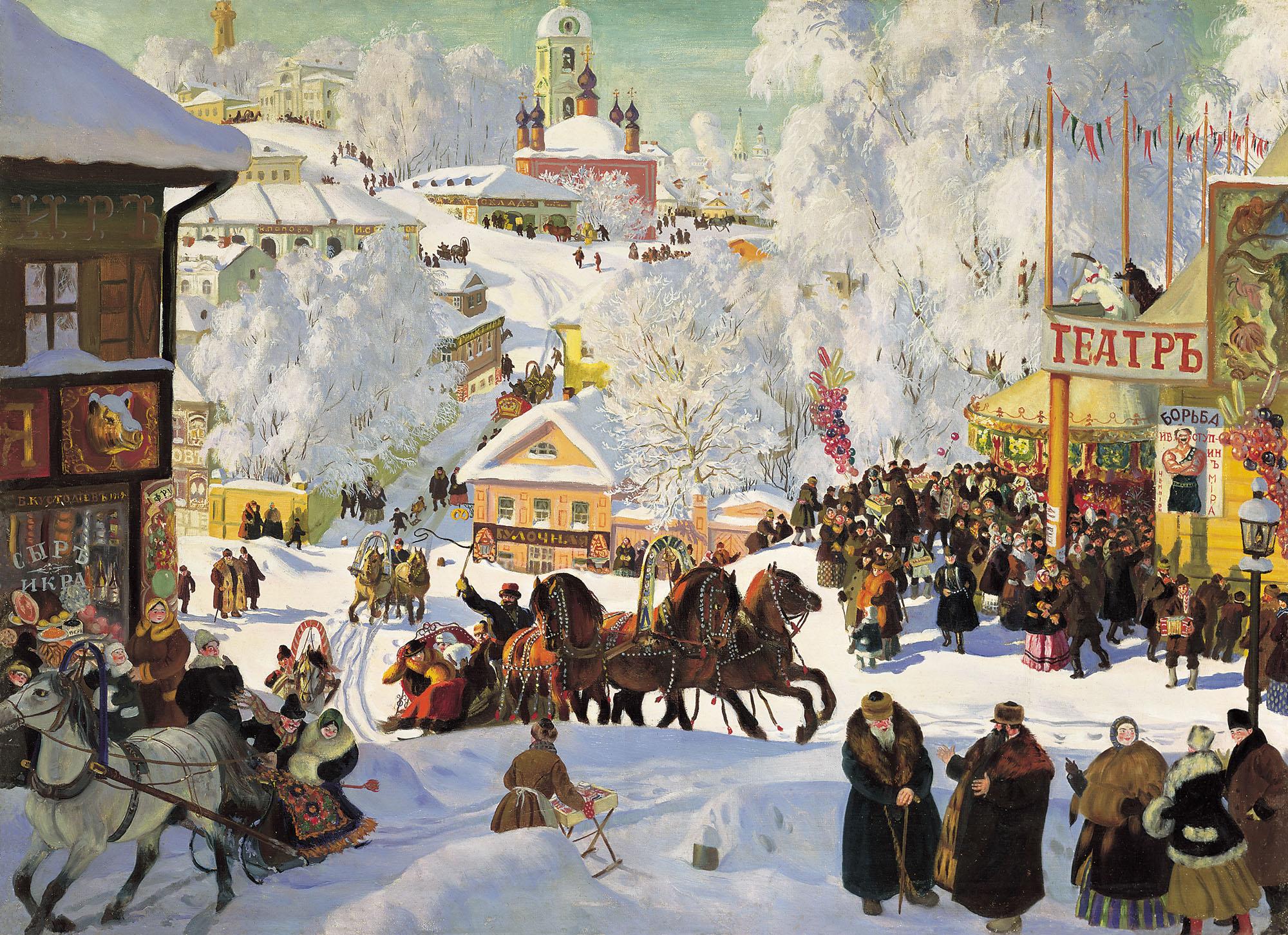 Расписание на январь + конкурс + новогодняя живопись