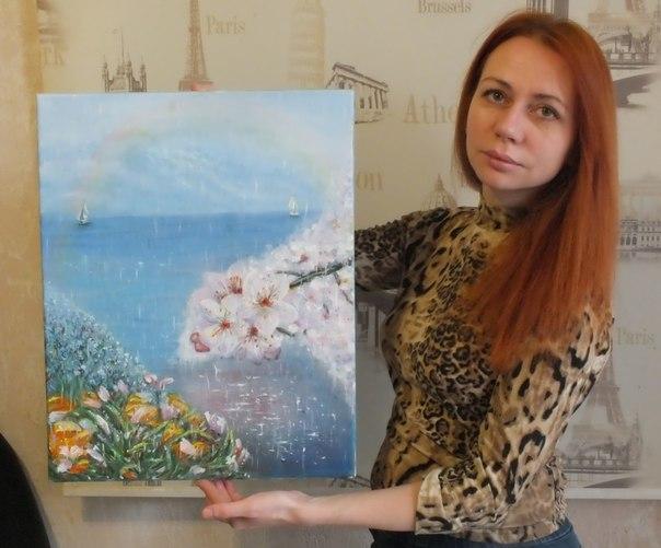 Чествуем победителя арт-конкурса «Весенние цветы»